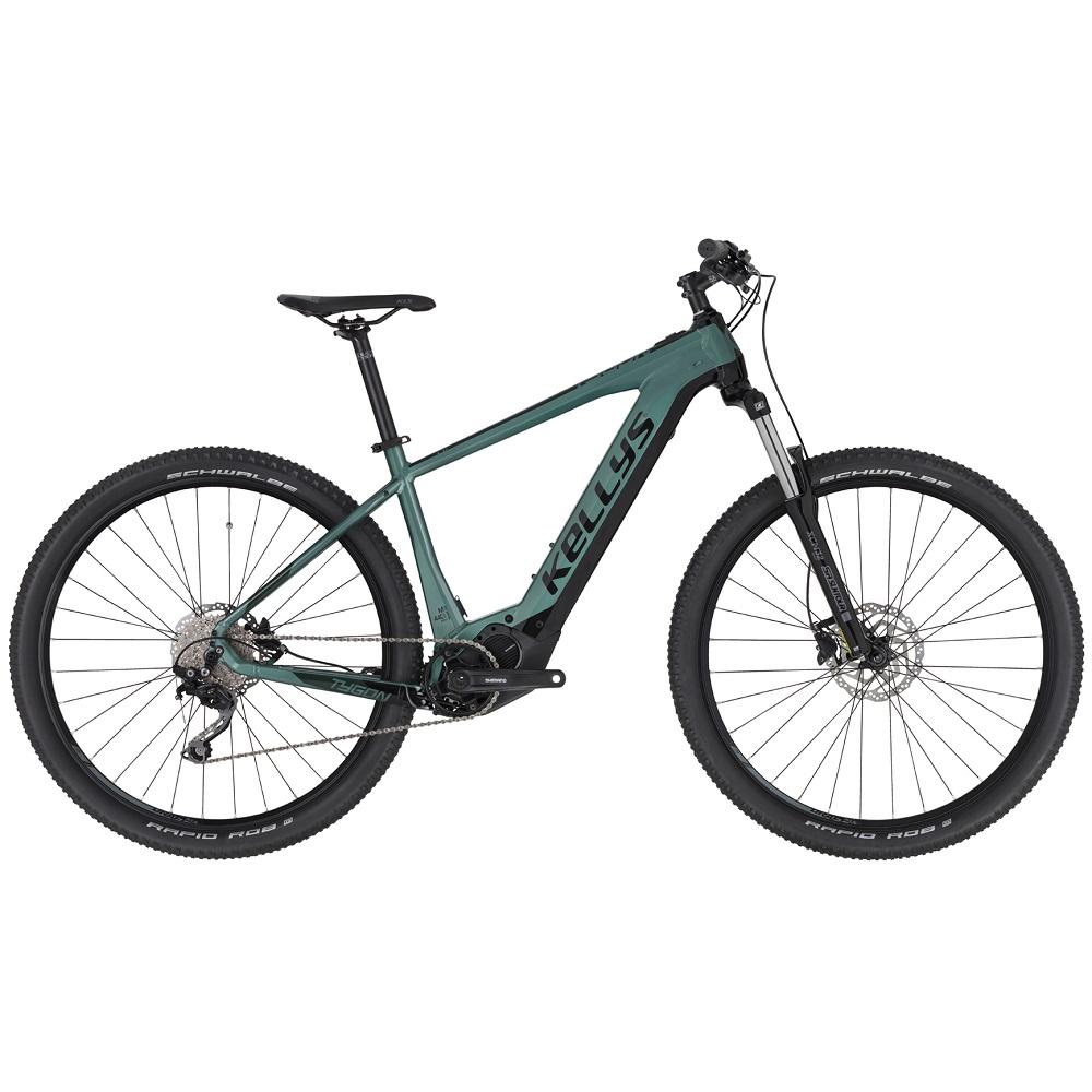 """Horské elektrokolo KELLYS TYGON 20 29"""" - model 2020 Green - XL (20,5"""") - Záruka 10 let"""