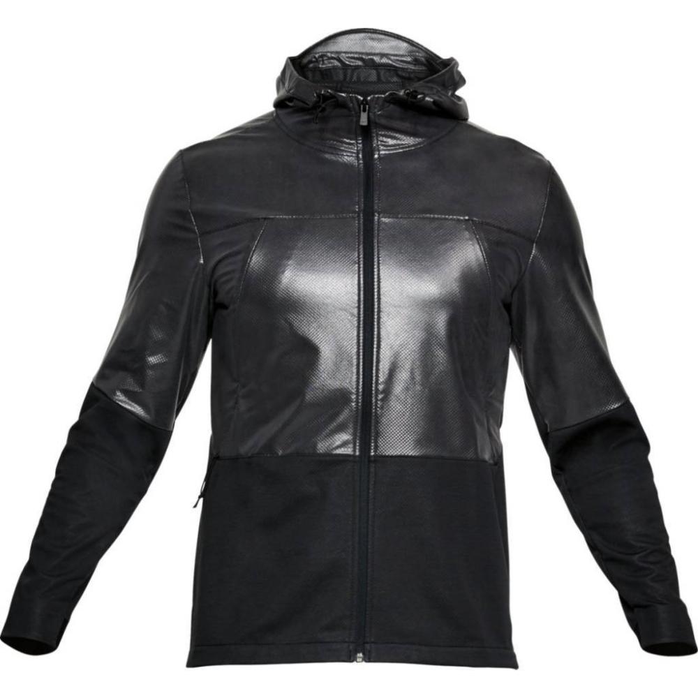 Pánská Mikina Under Armour Swacket  Black Full Heather/black  S