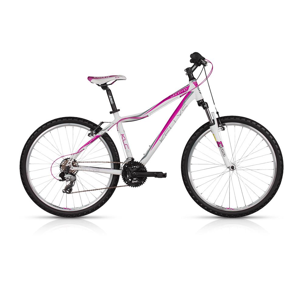 """Dámské horské kolo KELLYS VANITY 10 26"""" - model 2017 Purple White - 375 mm (15"""") - Záruka 5 let"""