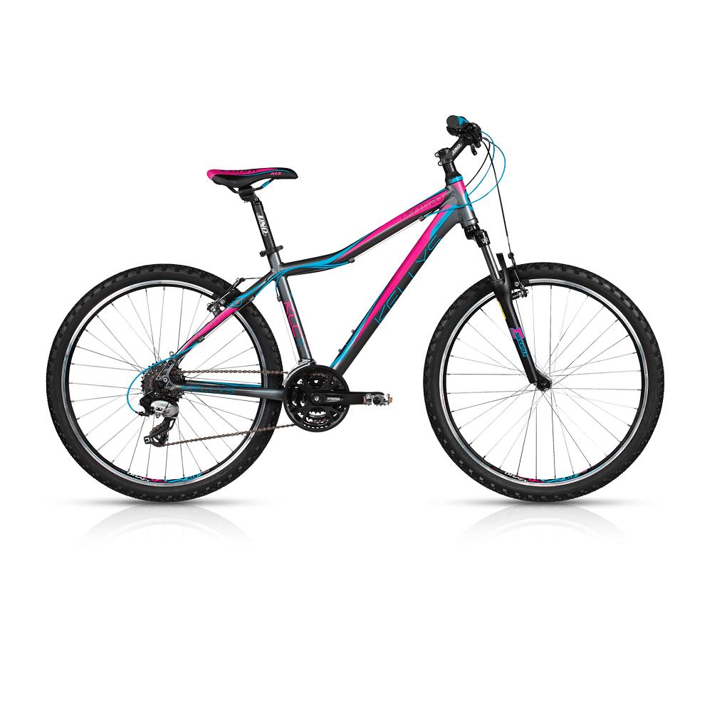 "Dámské horské kolo KELLYS VANITY 20 26"" - model 2017 Dark Pink - 375 mm (15"") - Záruka 5 let"