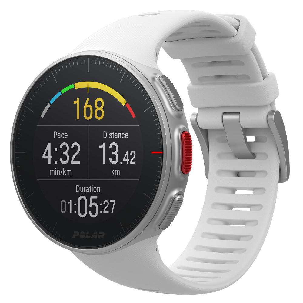 Sportovní hodinky POLAR Vantage V bílá