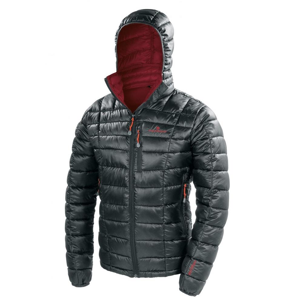 Pánská bunda Ferrino Viedma Jacket Man New Black - L