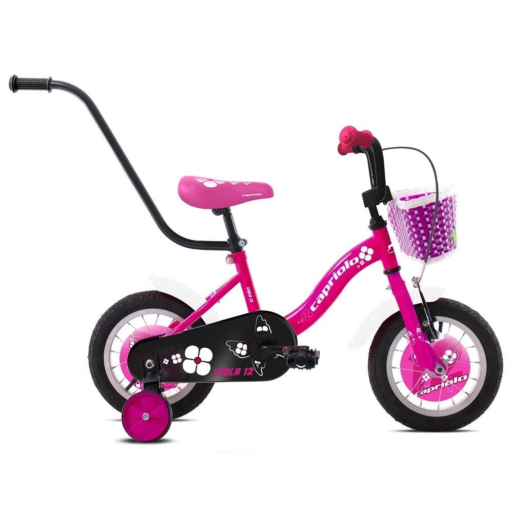 """Dětské kolo Capriolo Viola 12"""" - model 2020 růžová"""