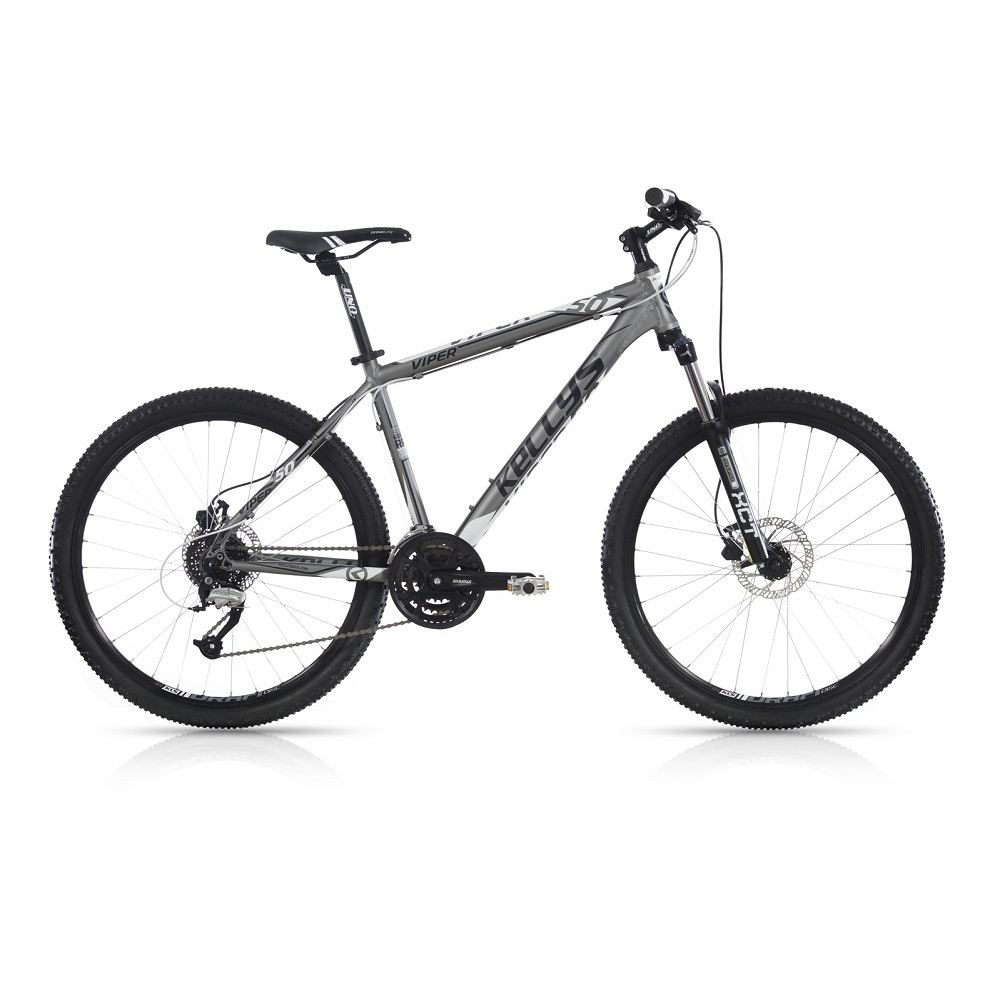 "Horské kolo KELLYS VIPER 50 26"" - model 2017 Grey - 395 mm (15,5"") - Záruka 10 let"