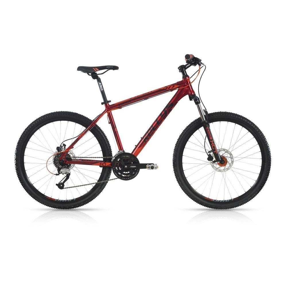 "Horské kolo KELLYS VIPER 50 26"" - model 2017 Red - 445 mm (17,5"") - Záruka 10 let"