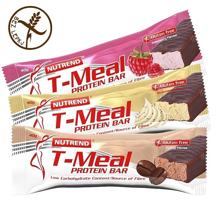 Tyčinka Nutrend T-Meal Low Carb káva
