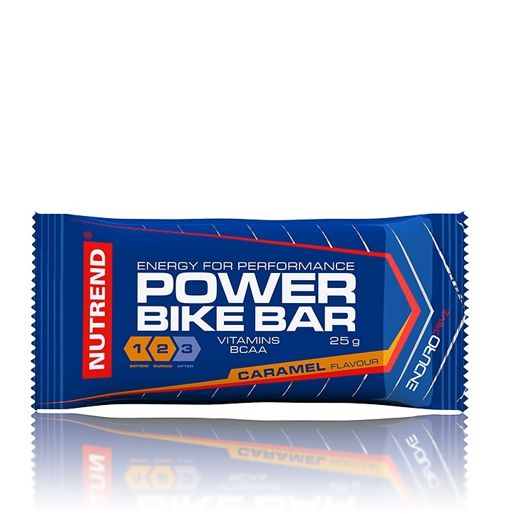 Tyčinka Nutrend Power Bike Bar 25g karamel