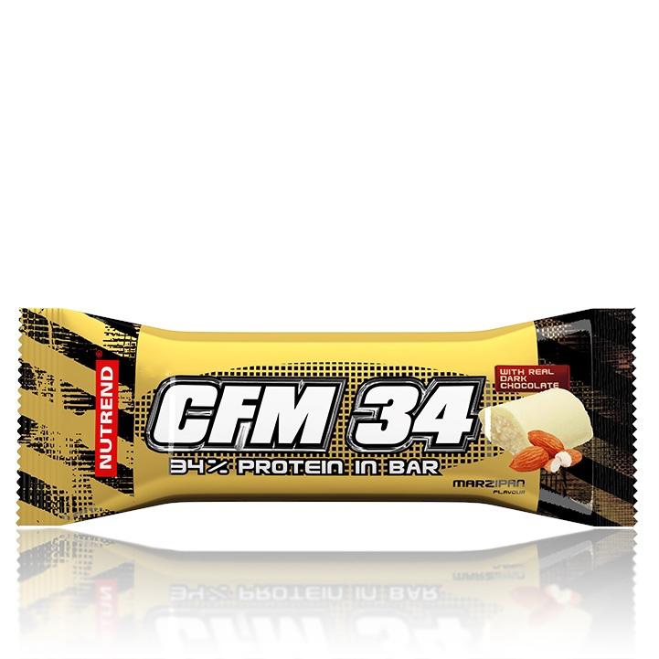 Tyčinka Nutrend CFM 34 80g marcipán