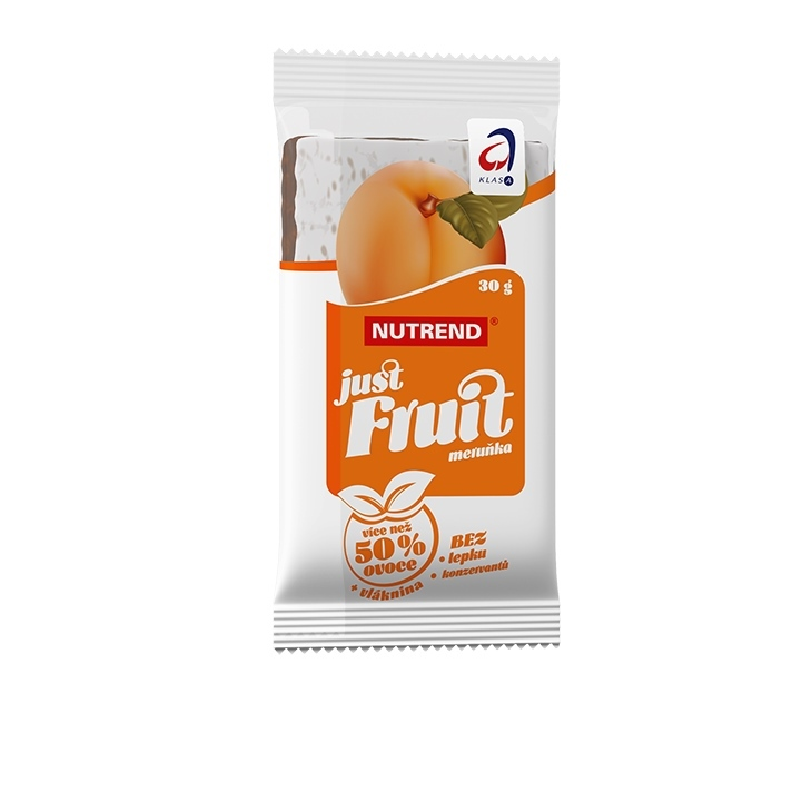 Tyčinka Nutrend Just Fruit 30 g meruňka
