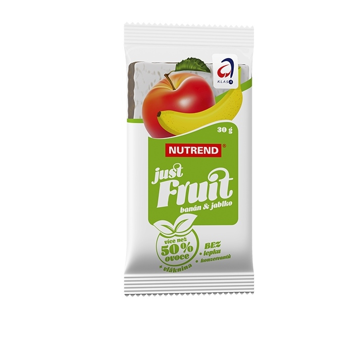 Tyčinka Nutrend Just Fruit 30 g banán a jablko