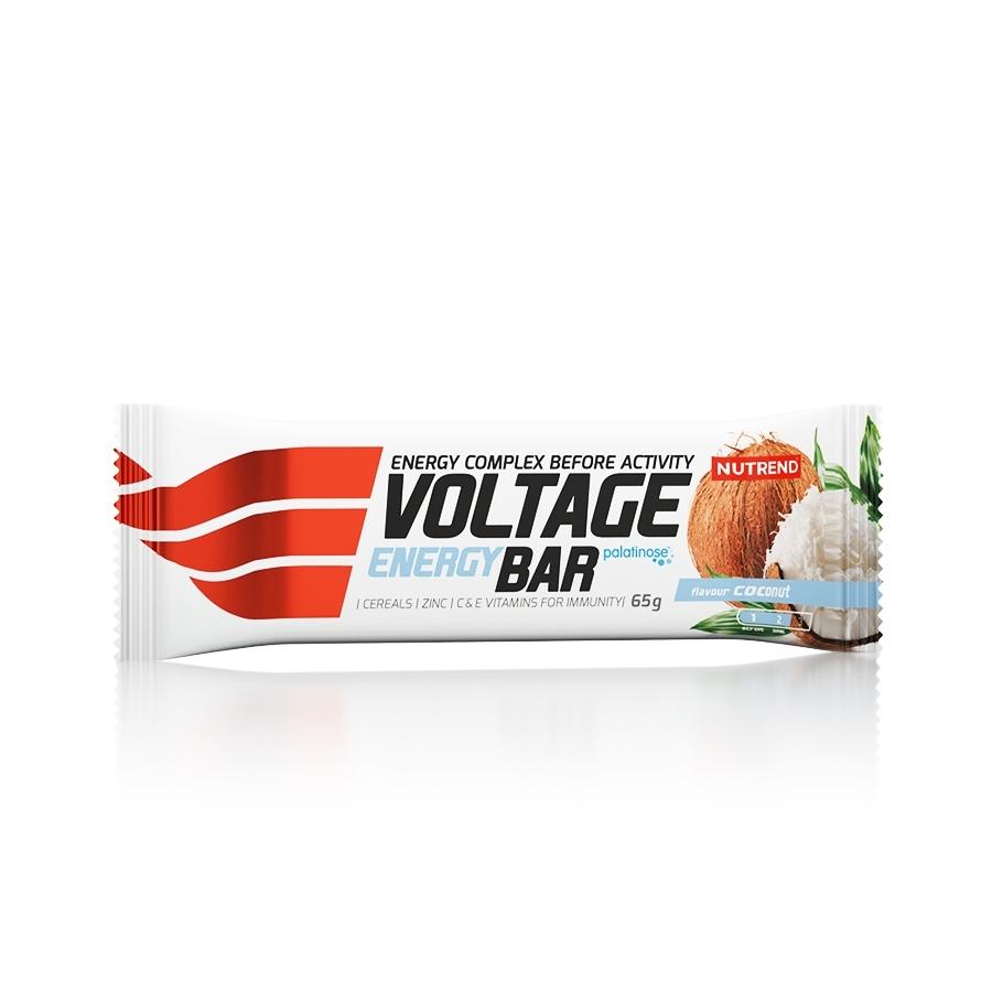 Tyčinka Nutrend Voltage Energy Cake 65 g kokos