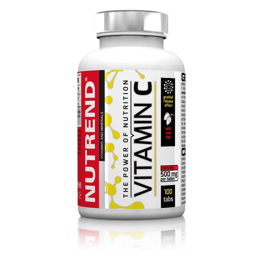 Tablety Nutrend Vitamín C se šípky, 100 tablet