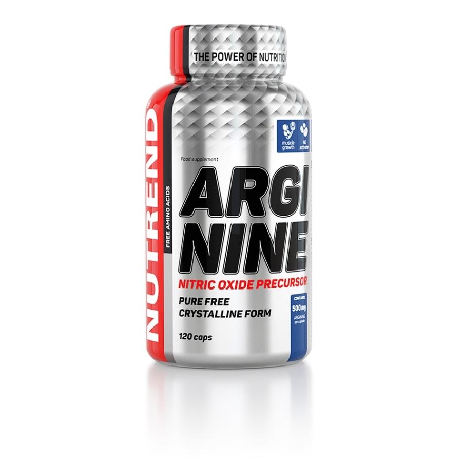 Aminokyseliny Nutrend Arginine 120 kapslí