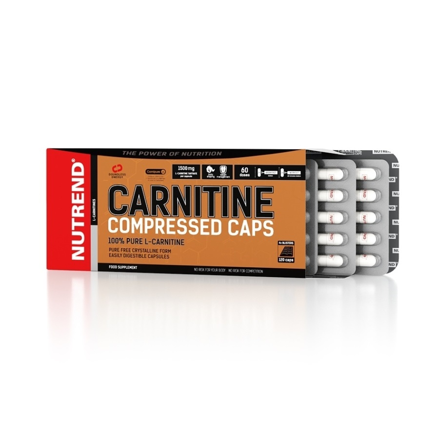 Nutrend Carnitine Compressed Caps 120 kapslí