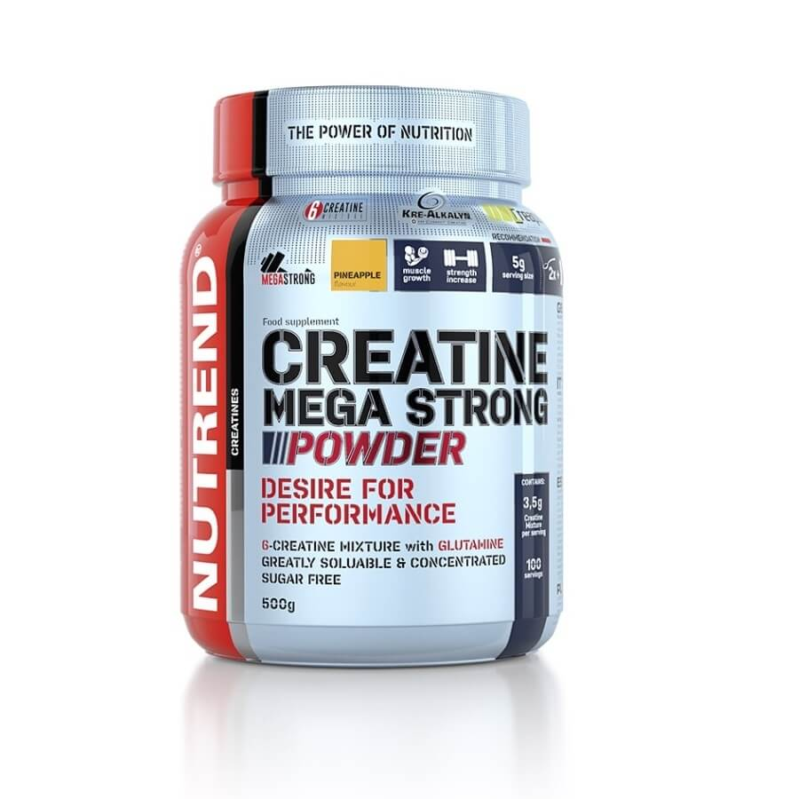 Nutrend Creatine Mega Strong Powder 500 g broskev