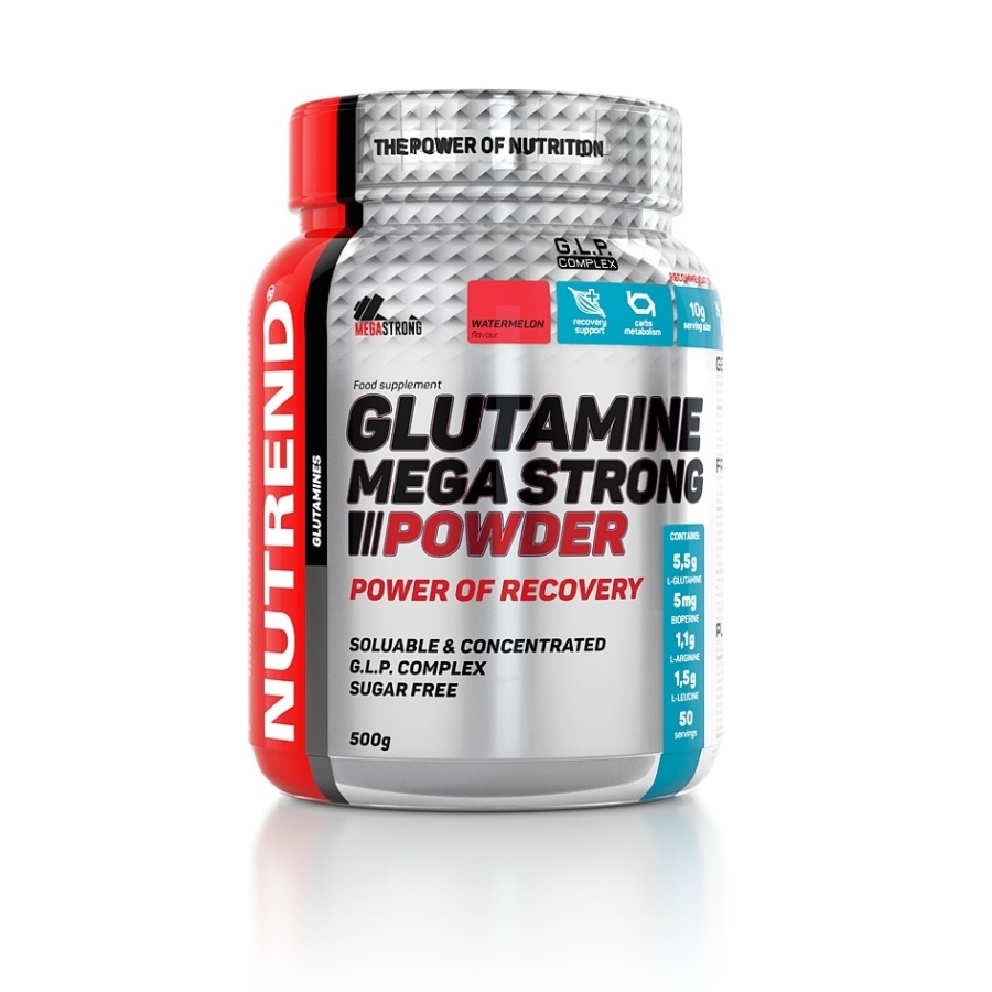 Nutrend Glutamine Mega Strong Powder 500g meloun