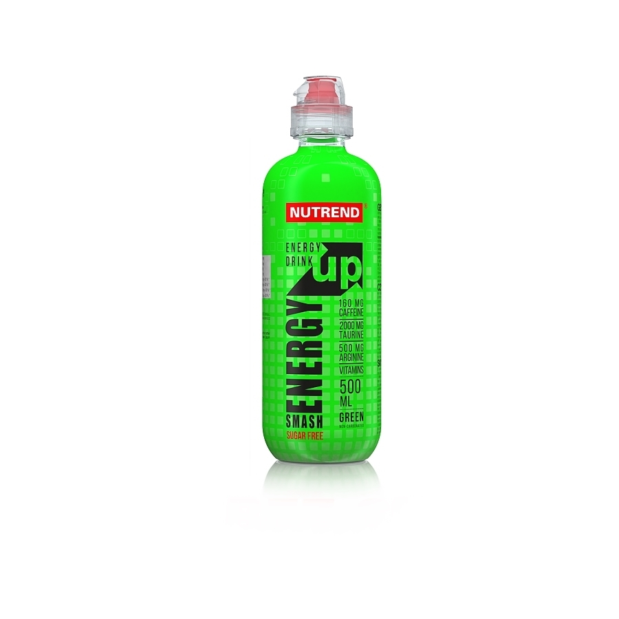 Nutrend Smash Energy Up 500 ml green bez cukru