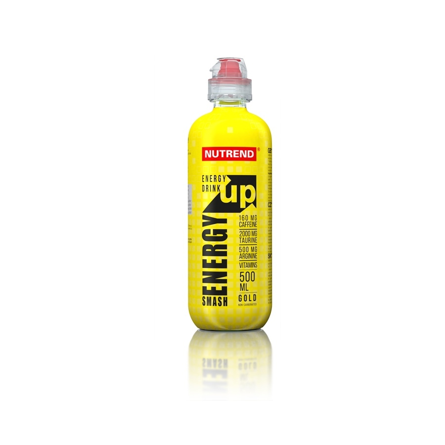 Energetický nápoj Nutrend Smash Energy Up 500 ml gold
