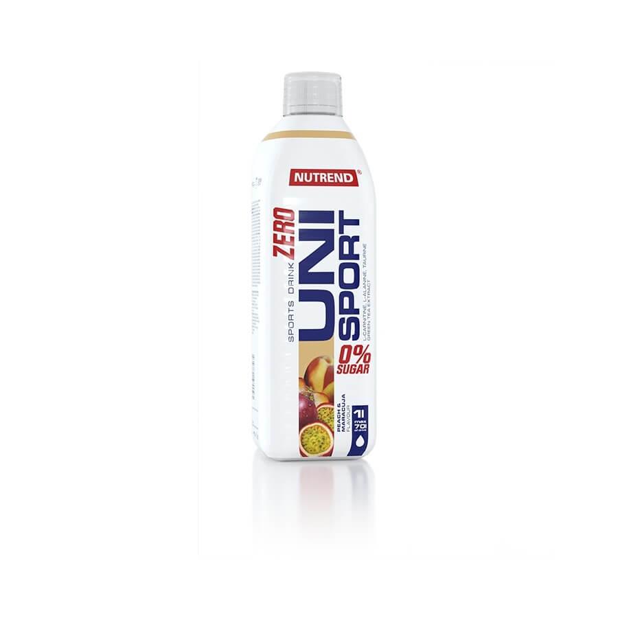 Hypotonický nápoj Nutrend Unisport Zero 1000 ml broskev-maracuja