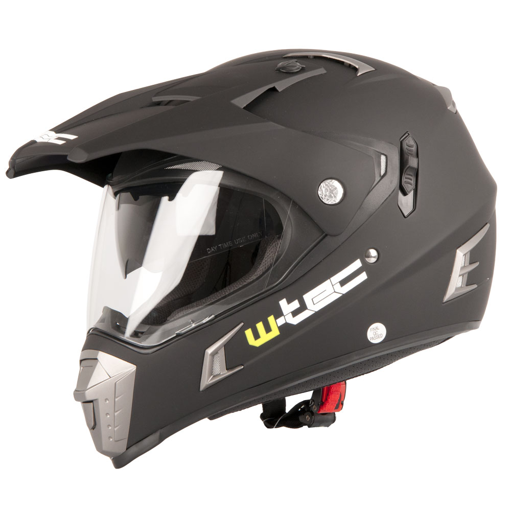 Moto přilba W-TEC NK-311 Matt Black - XXL (63-64)