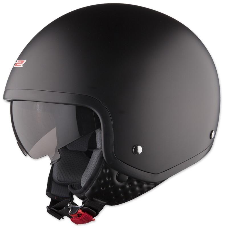 Moto přilba LS2 Wave matně černá - XS (53-54)