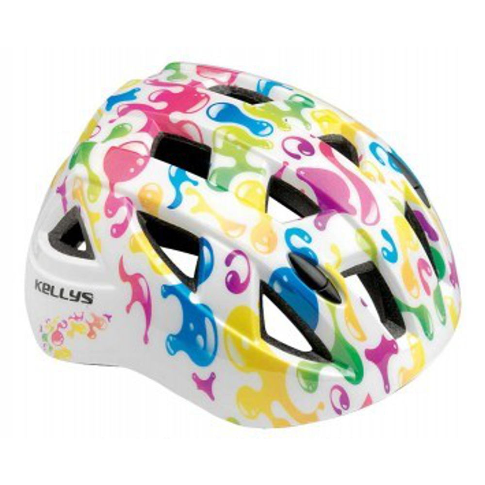 Dětská cyklistická přilba KELLYS Smarty bílá - S