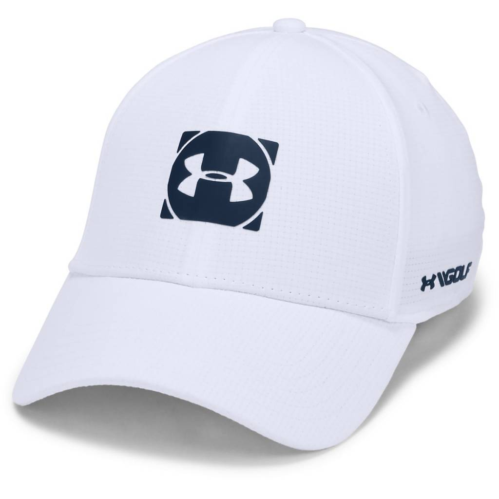 Under Armour Mens Official Tour Cap 3.0 White - ML (55-58)