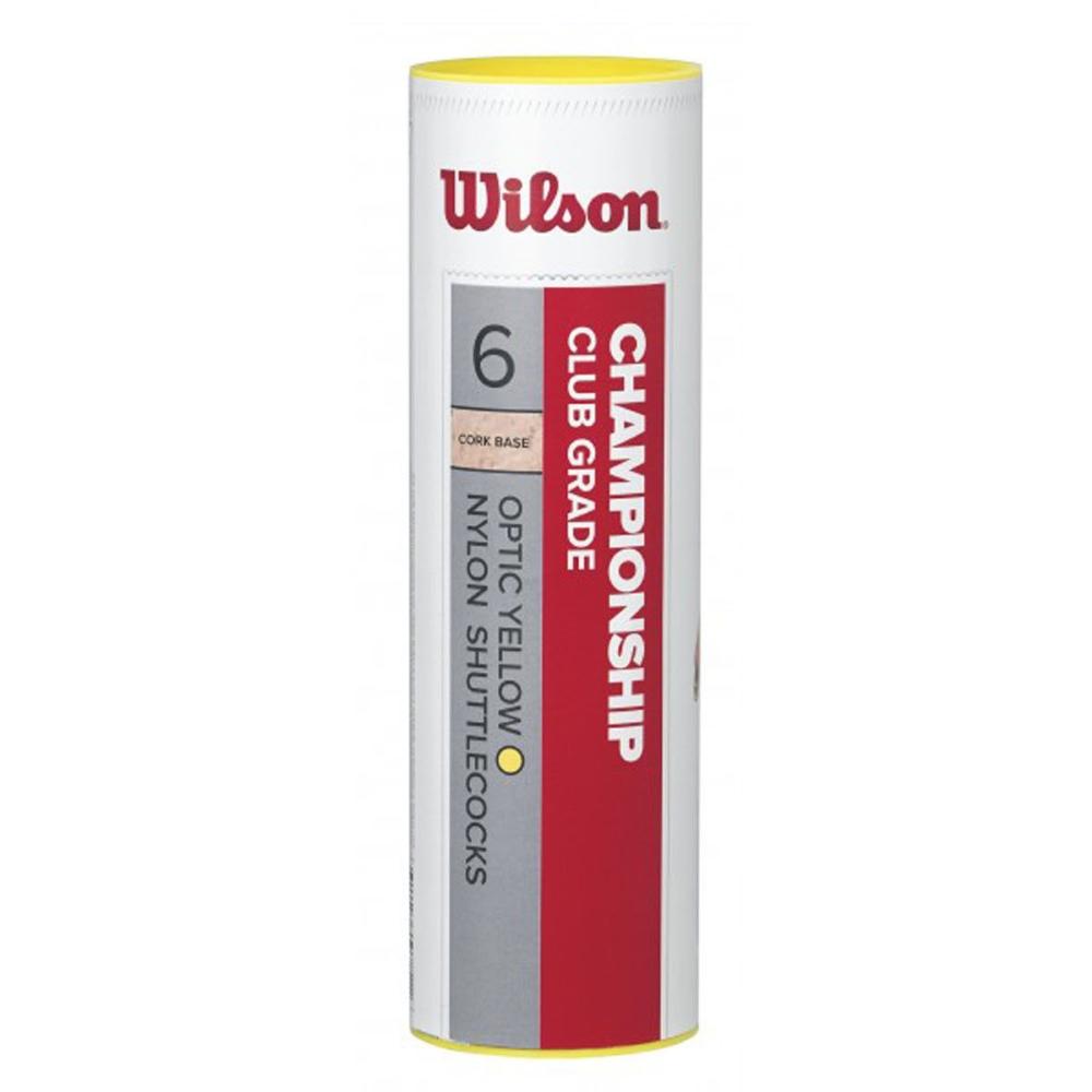 Míček na badminton Wilson Championship 6 kusů 78 střední