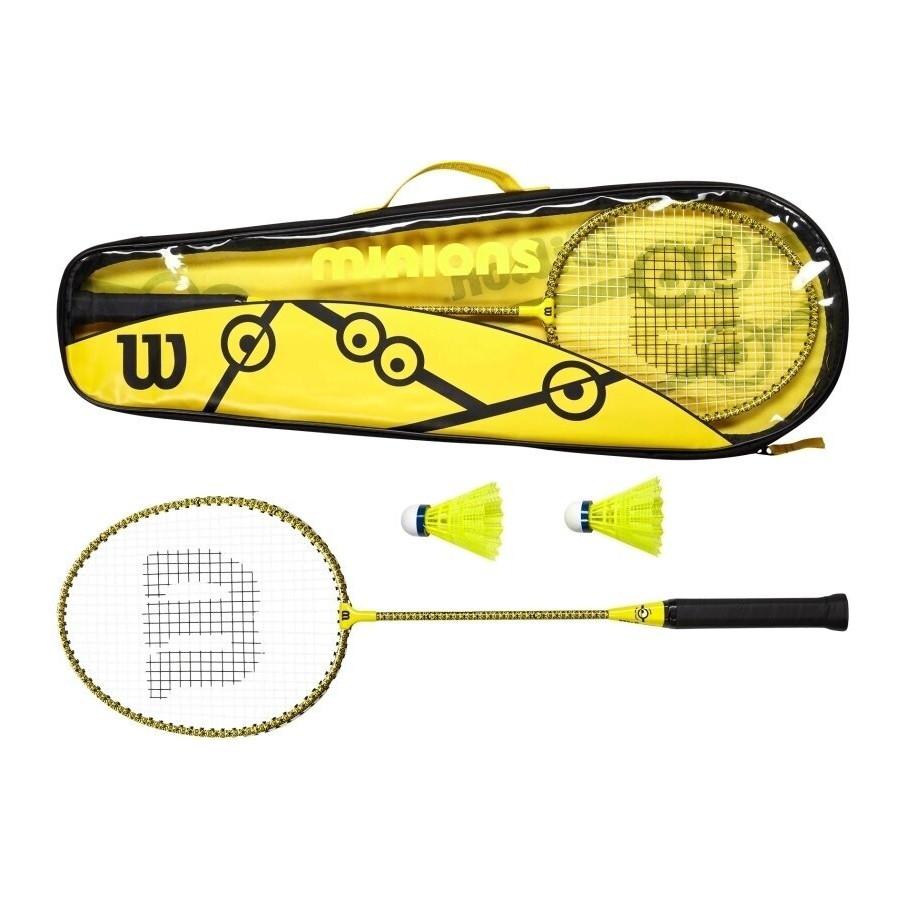 Badmintonová sada Wilson Minions - 2 rakety