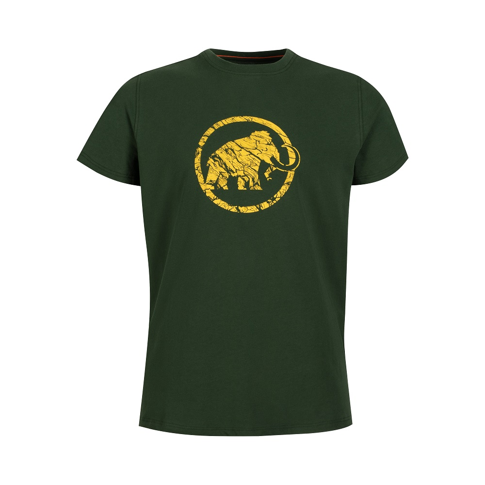 Mammut Logo T-Shirt Men Woods - M