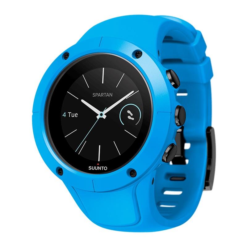 Sportovní hodinky SUUNTO Spartan Trainer Wrist HR Blue