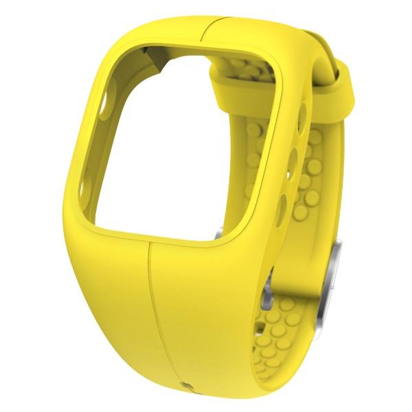 Řemínek pro sporttester Polar A300 - žlutá