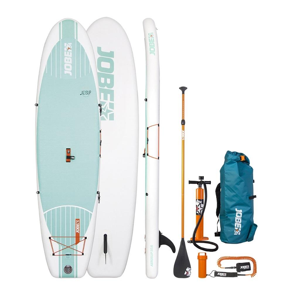 Paddleboard s příslušenstvím Jobe Aero SUP Yoga 10.6