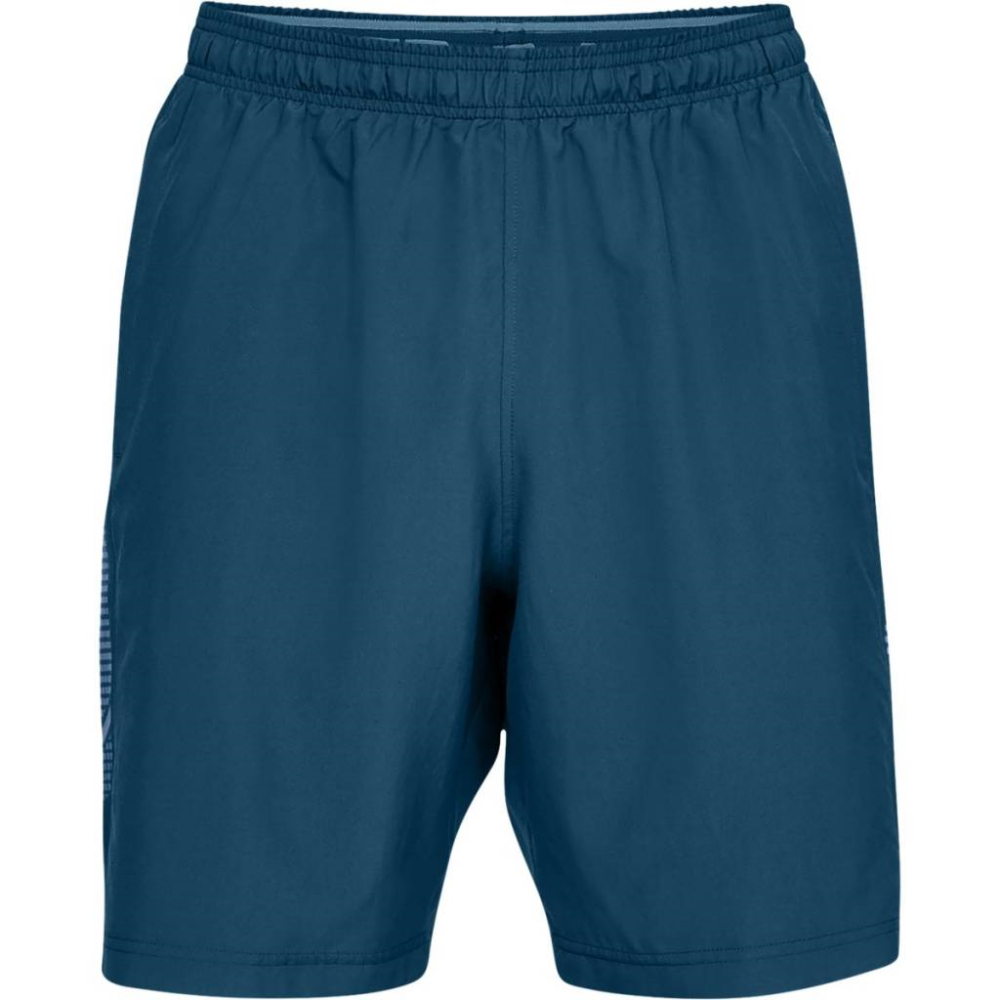 Under Armour Woven Graphic Short Petrol Blue - XXL