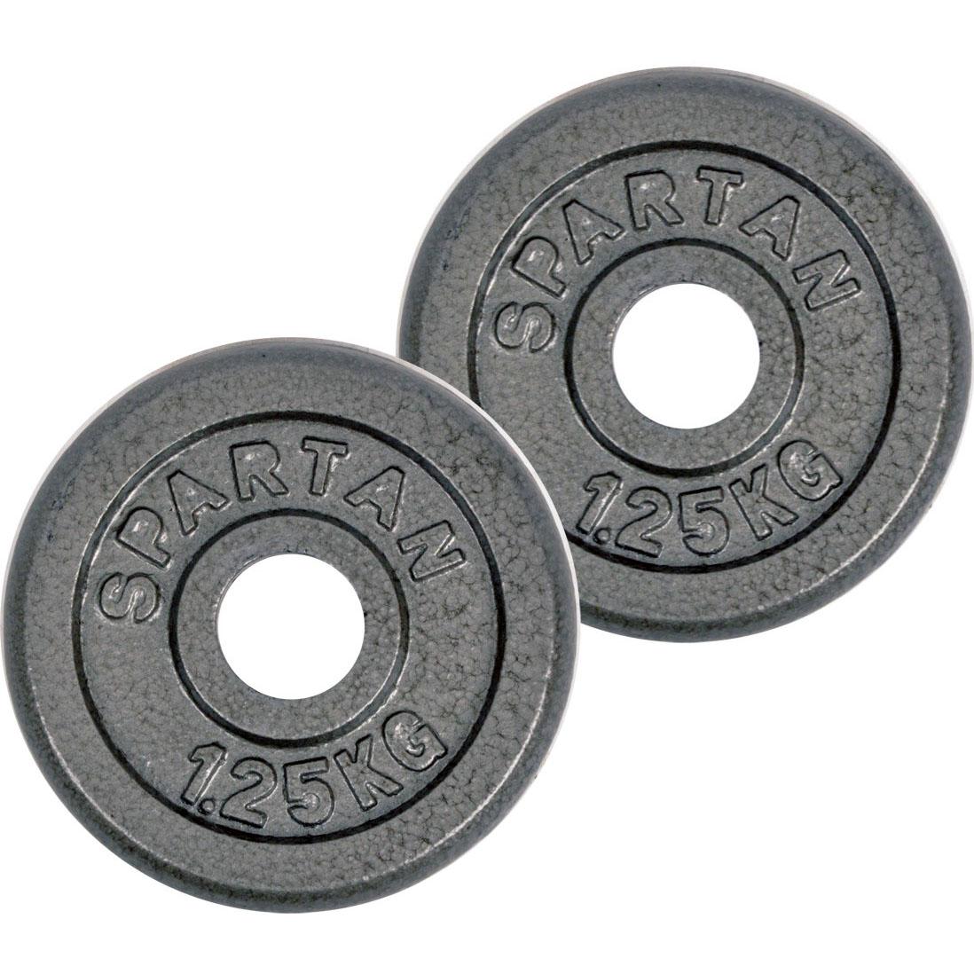 Závaží Spartan 2 x 1,25 kg ocelové