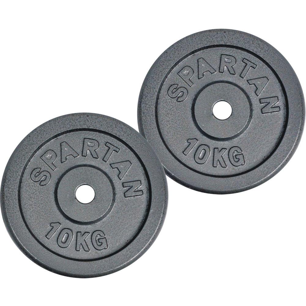 Závaží Spartan 2 x 10 kg ocelové
