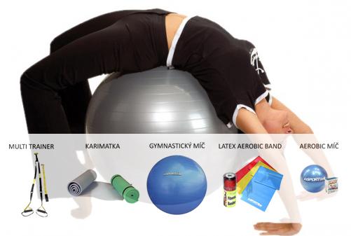 Zdravá záda / Domácí posilovna - začnu s trenérem