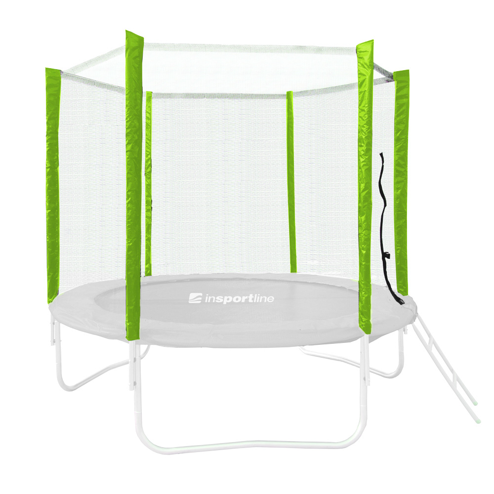 Ochranná síť pro trampolínu inSPORTline Froggy PRO 244 cm zelená
