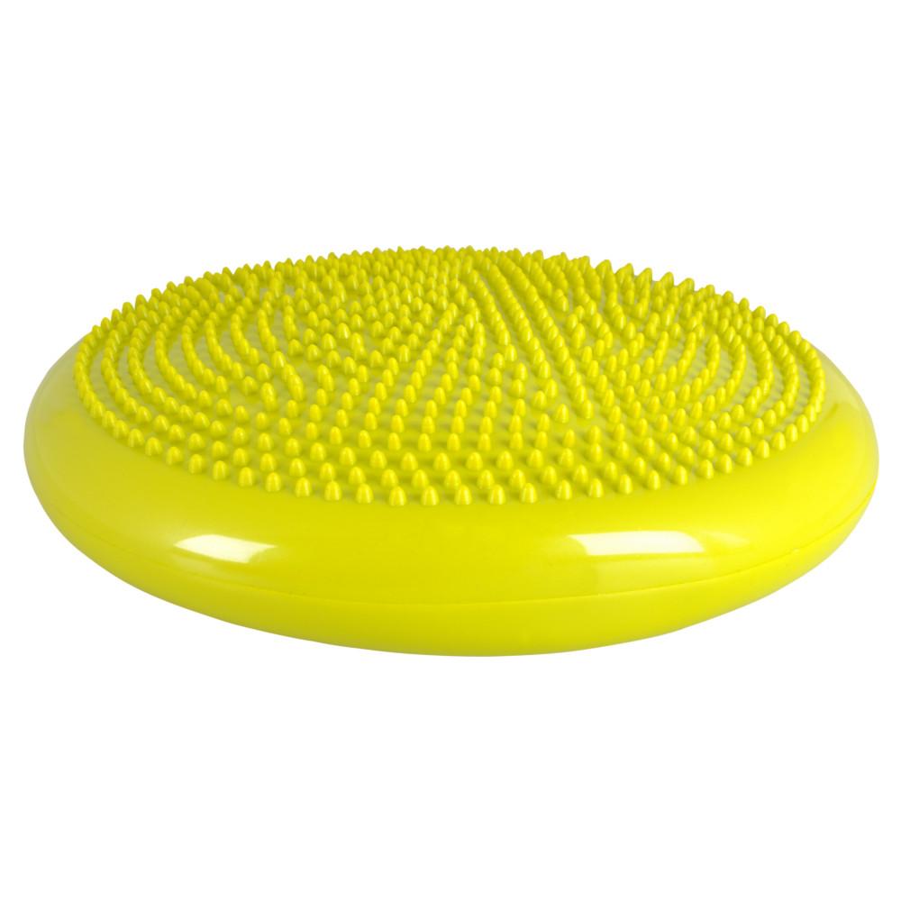 Balanční polštář inSPORTline Bumy BC100 tmavě žluto-zelená