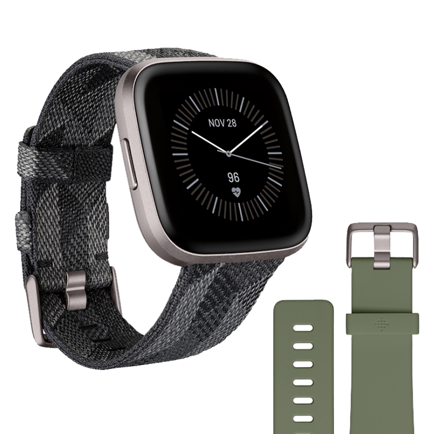 Fitbit Fitbit Versa 2 Special Edition Smoke Woven