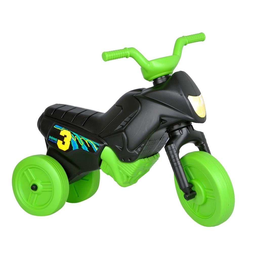 Odrážedlo Enduro Mini černo-zelená