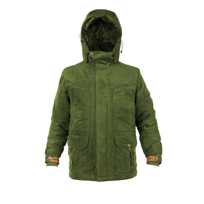 Myslivecká bunda Graff 654-O-B-1 olivově zelená - L