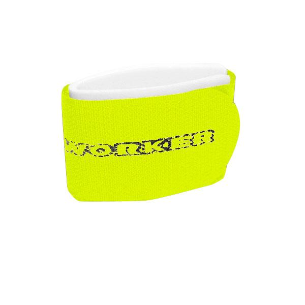 Upínací pásky na běžky WORKER žlutá