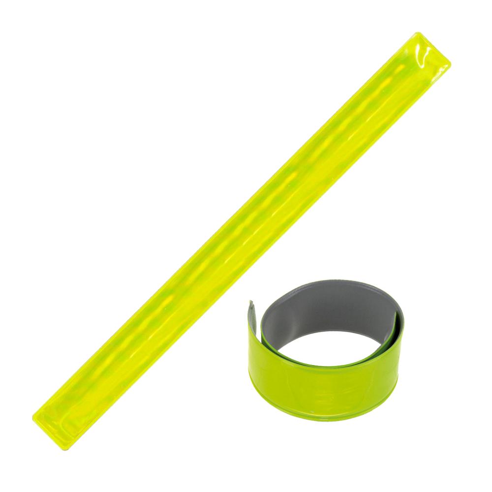 Reflexní páska BC 30x3 cm žlutá