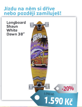 Longboard Shaun White Dawn 38