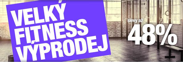 Fitness potřeby od největšího prodejce fitness - Akce, Výprodej