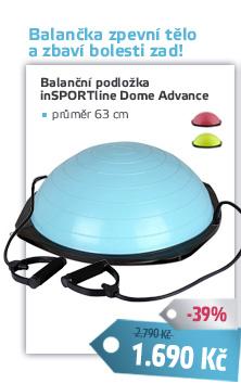 Balanční podložka inSPORTline Dome Advance - AKCE