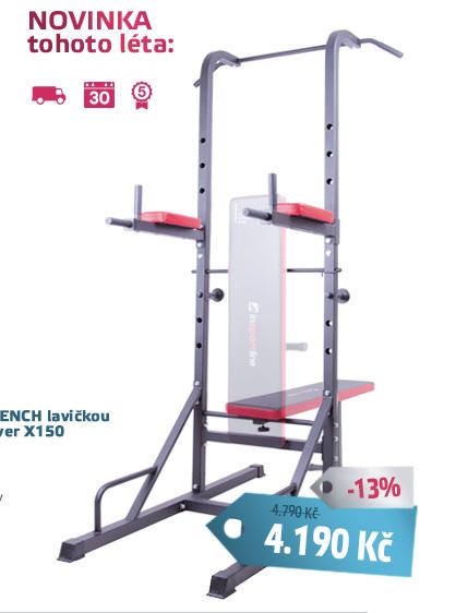 Multifunkční hrazda inSPORTline Power Tower X150 - AKCE