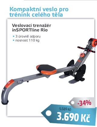 Veslovací trenažér inSPORTline Rio - AKCE