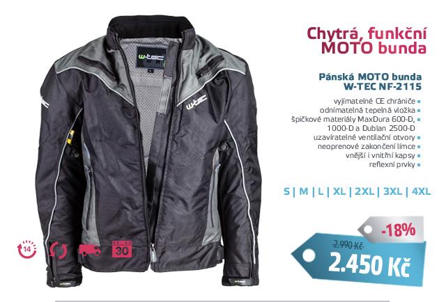 Pánská moto bunda W-TEC NF-2115 - AKCE